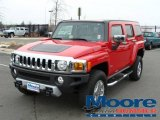 2009 Victory Red Hummer H3  #4765631
