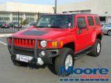 2009 Victory Red Hummer H3  #4765606