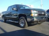 2006 Dark Green Metallic Chevrolet Silverado 1500 LS Crew Cab #47831660
