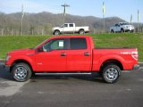 2011 Race Red Ford F150 XLT SuperCrew 4x4 #47858522