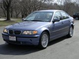 2003 Steel Blue Metallic BMW 3 Series 330xi Sedan #47867018