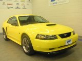 2003 Zinc Yellow Ford Mustang GT Coupe #47867027