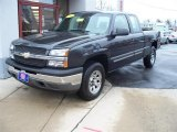 2005 Dark Gray Metallic Chevrolet Silverado 1500 LS Extended Cab 4x4 #4777819