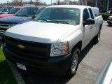 2011 Sheer Silver Metallic Chevrolet Silverado 1500 Extended Cab 4x4 #47866596