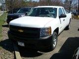 2011 Summit White Chevrolet Silverado 1500 Extended Cab #47866599