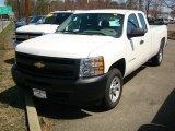 2011 Summit White Chevrolet Silverado 1500 Extended Cab #47866600