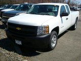 2011 Summit White Chevrolet Silverado 1500 Extended Cab #47866601