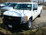 2011 Summit White Chevrolet Silverado 1500 Extended Cab #47866604