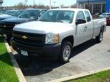 2011 Sheer Silver Metallic Chevrolet Silverado 1500 Extended Cab #47866610