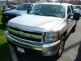 2010 Sheer Silver Metallic Chevrolet Silverado 1500 LT Crew Cab 4x4 #47866613