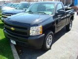 2011 Black Chevrolet Silverado 1500 Regular Cab 4x4 #47866617