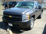 2011 Taupe Gray Metallic Chevrolet Silverado 1500 Regular Cab 4x4 #47866618