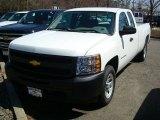 2011 Summit White Chevrolet Silverado 1500 Extended Cab #47866619