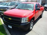 2011 Victory Red Chevrolet Silverado 1500 Extended Cab #47866622