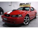 2003 Torch Red Ford Mustang Mach 1 Coupe #47866741