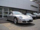 2007 Arctic Silver Metallic Porsche 911 Carrera Coupe #47867077