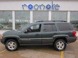 2001 Jeep Grand Cherokee Shale Green Metallic