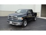 2011 Hunter Green Pearl Dodge Ram 1500 Big Horn Quad Cab 4x4 #47867365