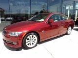 2011 Vermillion Red Metallic BMW 3 Series 328i Coupe #47866969