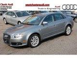 2008 Quartz Grey Metallic Audi A4 2.0T Special Edition quattro Sedan #47866991