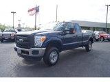 2011 Ford F250 Super Duty Dark Blue Pearl Metallic