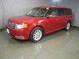 2010 Red Candy Metallic Ford Flex SEL AWD #47906146