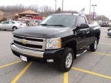 2008 Black Chevrolet Silverado 1500 LT Regular Cab 4x4 #47906377
