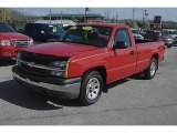 2005 Victory Red Chevrolet Silverado 1500 Regular Cab #47906395