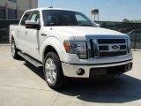 2011 White Platinum Metallic Tri-Coat Ford F150 Lariat SuperCrew #47906010