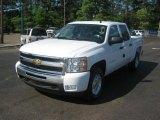 2011 Summit White Chevrolet Silverado 1500 LT Crew Cab 4x4 #47906453