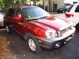 2004 Merlot Red Hyundai Santa Fe GLS #47905639