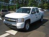 2011 Summit White Chevrolet Silverado 1500 LT Crew Cab 4x4 #47906454