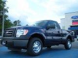 2011 Dark Blue Pearl Metallic Ford F150 XL Regular Cab #47905837