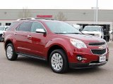 2010 Cardinal Red Metallic Chevrolet Equinox LTZ AWD #47905695