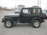 1995 Jeep Wrangler Black