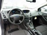 2012 Ford Focus S Sedan Charcoal Black Interior