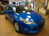 2012 Blue Candy Metallic Ford Focus SE Sedan #47905879