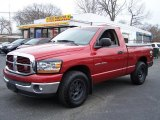 2006 Inferno Red Crystal Pearl Dodge Ram 1500 SLT Regular Cab #47906288
