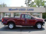 2006 Dark Toreador Red Metallic Ford F150 XL Regular Cab #47906120