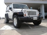 2007 Jeep Wrangler Stone White