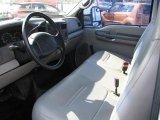 1999 Ford F350 Super Duty XL Regular Cab Chassis Utllity Bucket Medium Graphite Interior