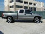 2002 Chevrolet Silverado 1500 LS Extended Cab 4x4 Custom Wheels