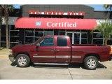 2002 Dark Carmine Red Metallic Chevrolet Silverado 1500 LS Extended Cab #47965789