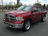 2011 Deep Cherry Red Crystal Pearl Dodge Ram 1500 Big Horn Quad Cab #47966483