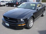 2005 Black Ford Mustang V6 Premium Coupe #47965668