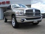 2008 Light Khaki Metallic Dodge Ram 1500 Big Horn Edition Quad Cab #47966254