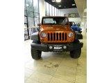 2011 Mango Tango Pearl Jeep Wrangler Sport 4x4 #47966043