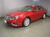 2010 Red Candy Metallic Ford Fusion SEL #47966049