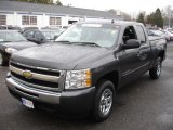 2010 Black Granite Metallic Chevrolet Silverado 1500 LS Extended Cab #47965868