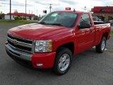 2011 Victory Red Chevrolet Silverado 1500 LT Regular Cab 4x4 #47966391